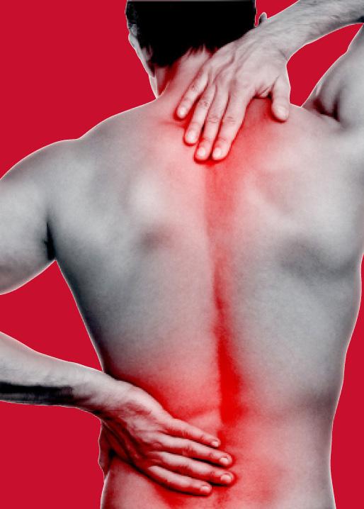 training back pain